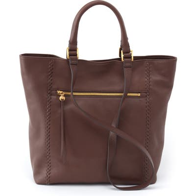 Hobo Ballad Leather Tote - Brown