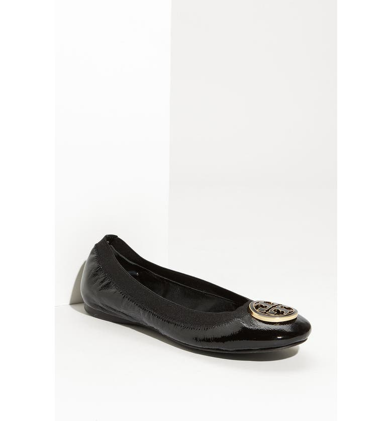 TORY BURCH 'Caroline' Ballerina Flat, Main, color, 001