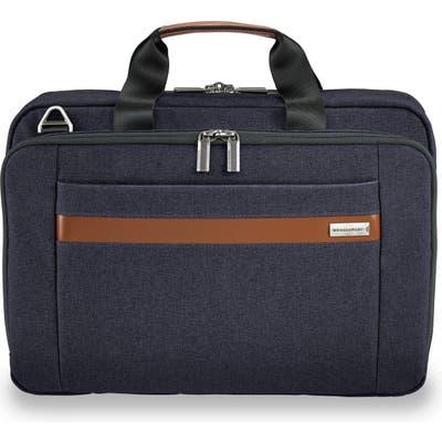 Briggs & Riley Kinzie Street Briefcase - Blue