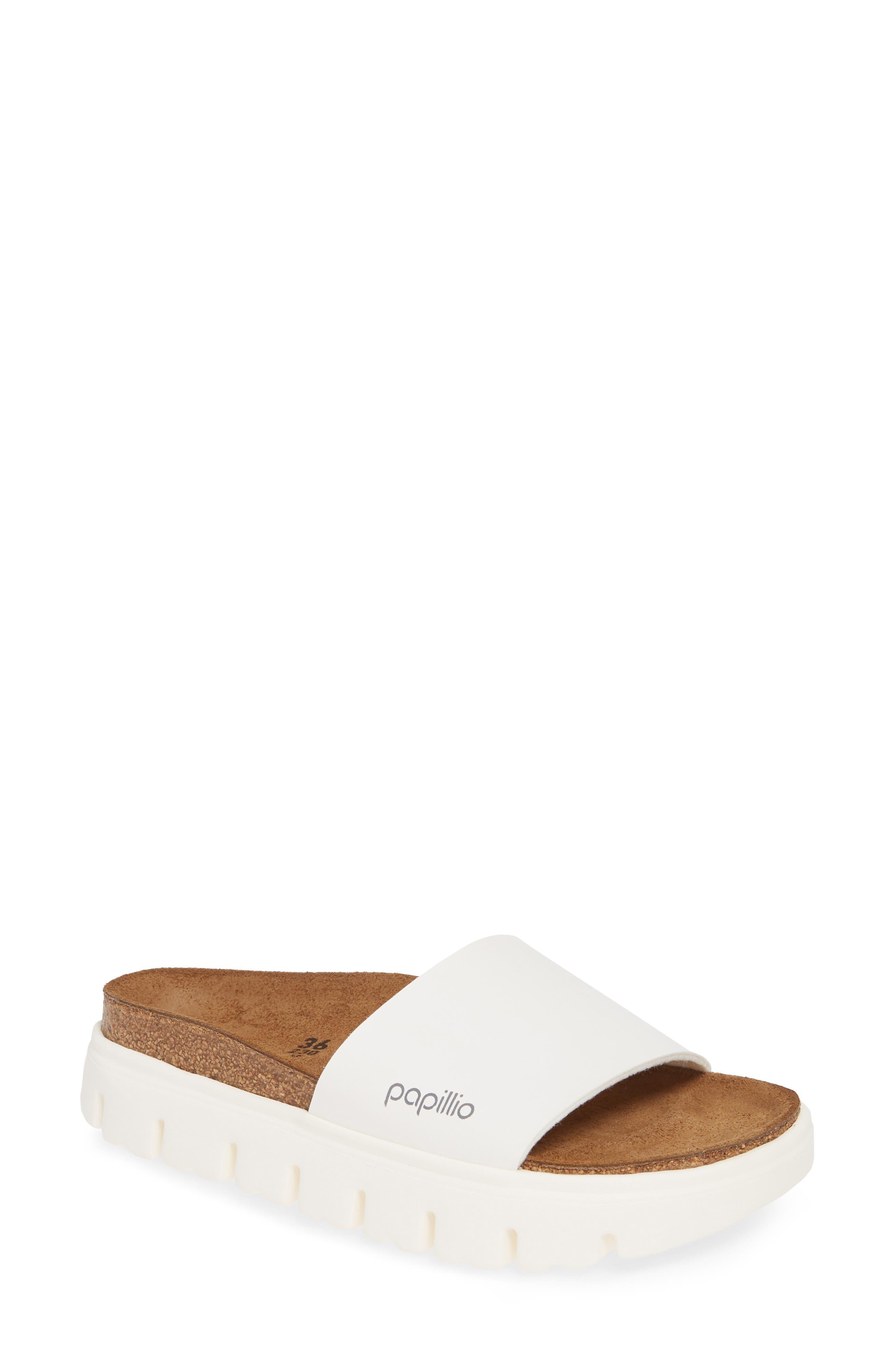 Papillio By Birkenstock Cora Slide Sandal, White