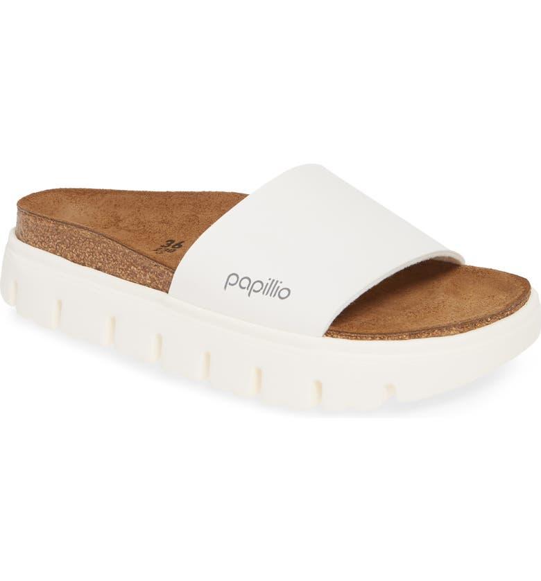 BIRKENSTOCK Papillio by Birkenstock Cora Slide Sandal, Main, color, WHITE