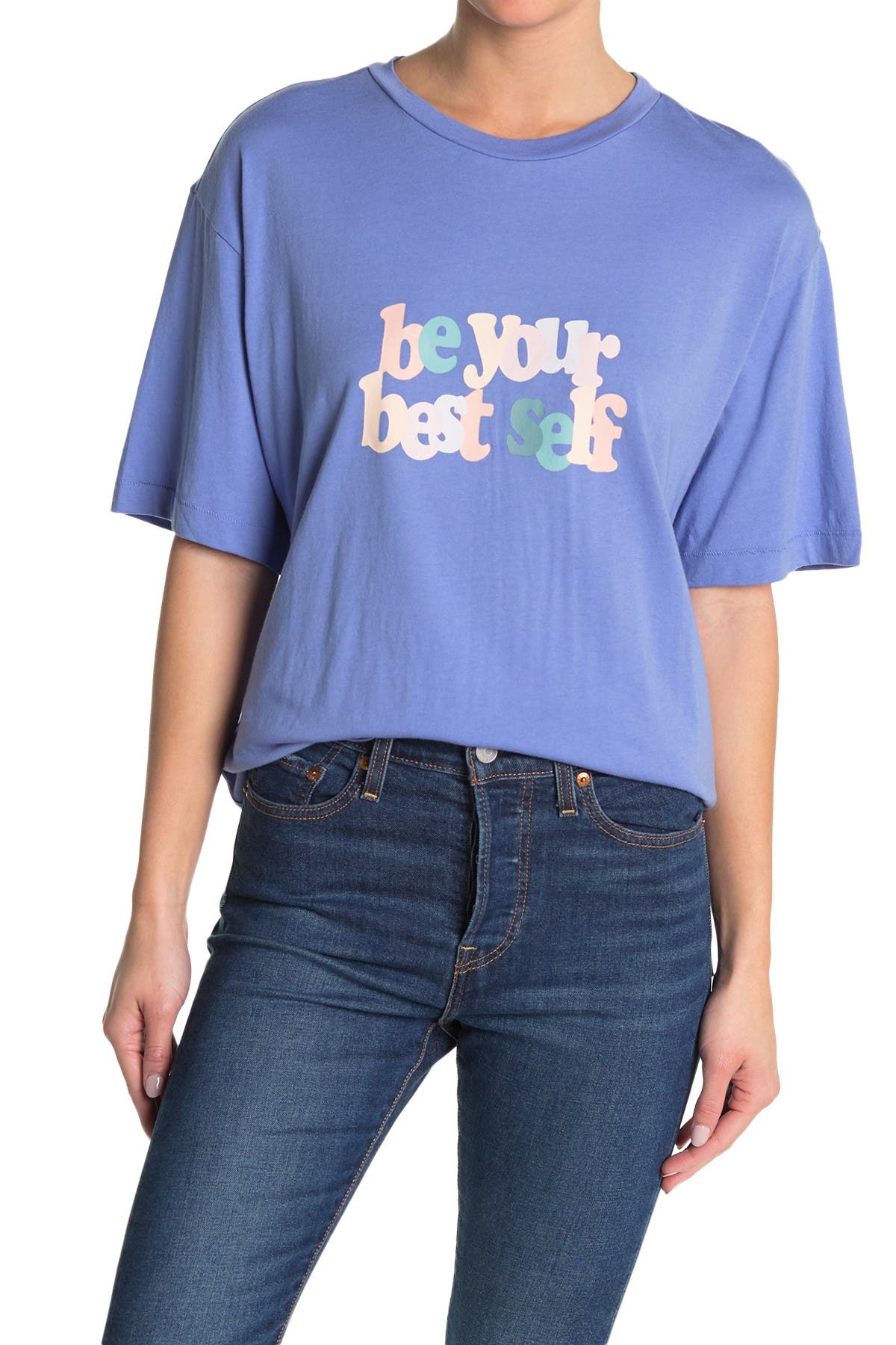 Image of Abound Slogan Graphic T-Shirt