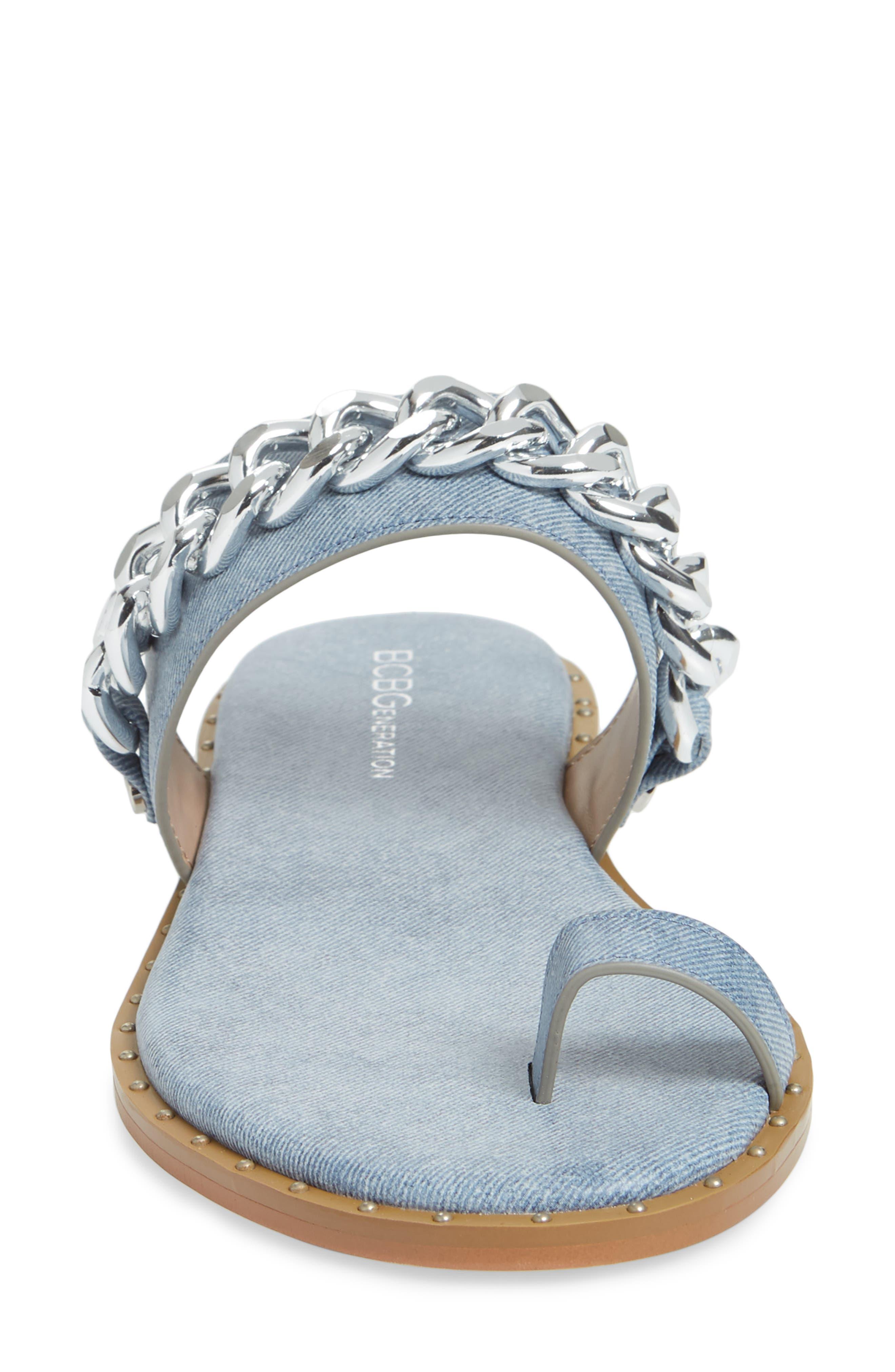 ,                             Zola Chain Slide Sandal,                             Alternate thumbnail 16, color,                             400
