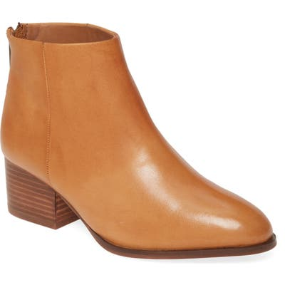 Seychelles Floodplain Block Heel Bootie- Brown