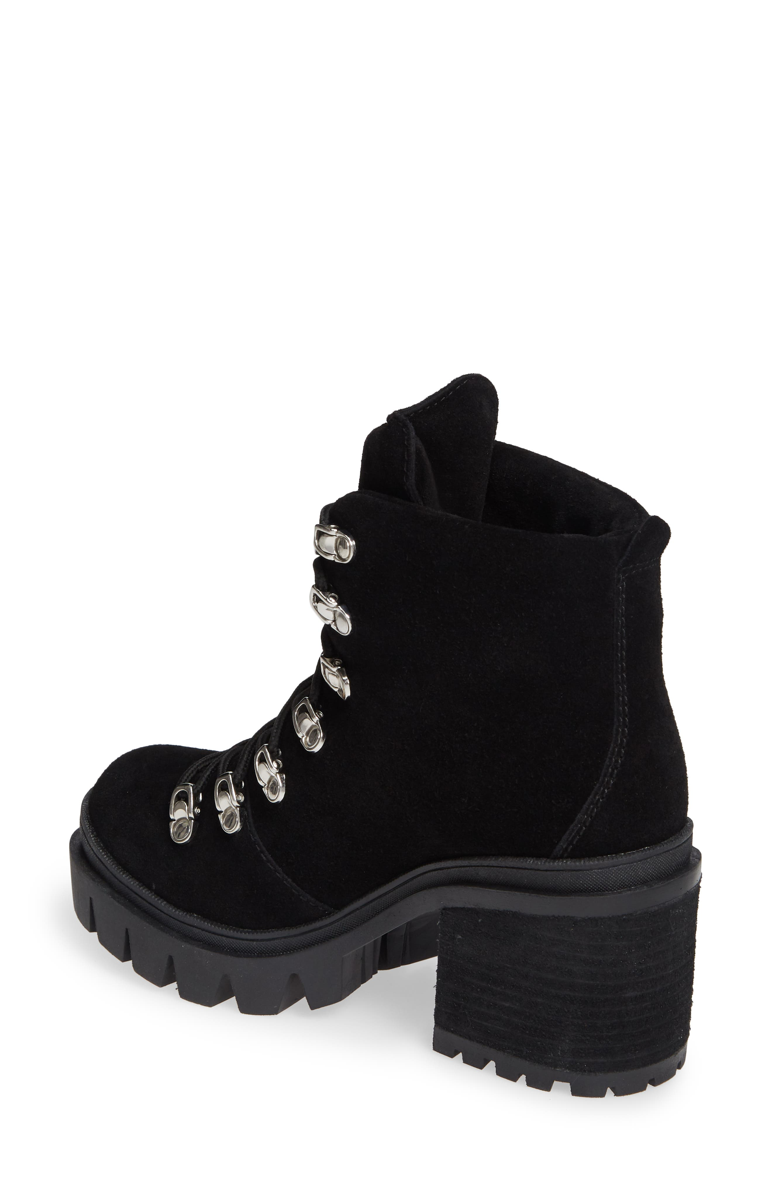 ,                             Golan Boot,                             Alternate thumbnail 2, color,                             BLACK OILED SUEDE