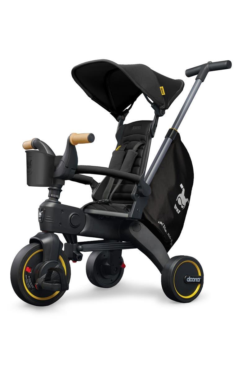 DOONA Liki S5 Convertible Stroller Trike, Main, color, NITRO BLACK