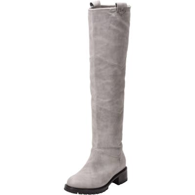 Ross & Snow Elena Weatherproof Genuine Shearling Lined Knee High Boot
