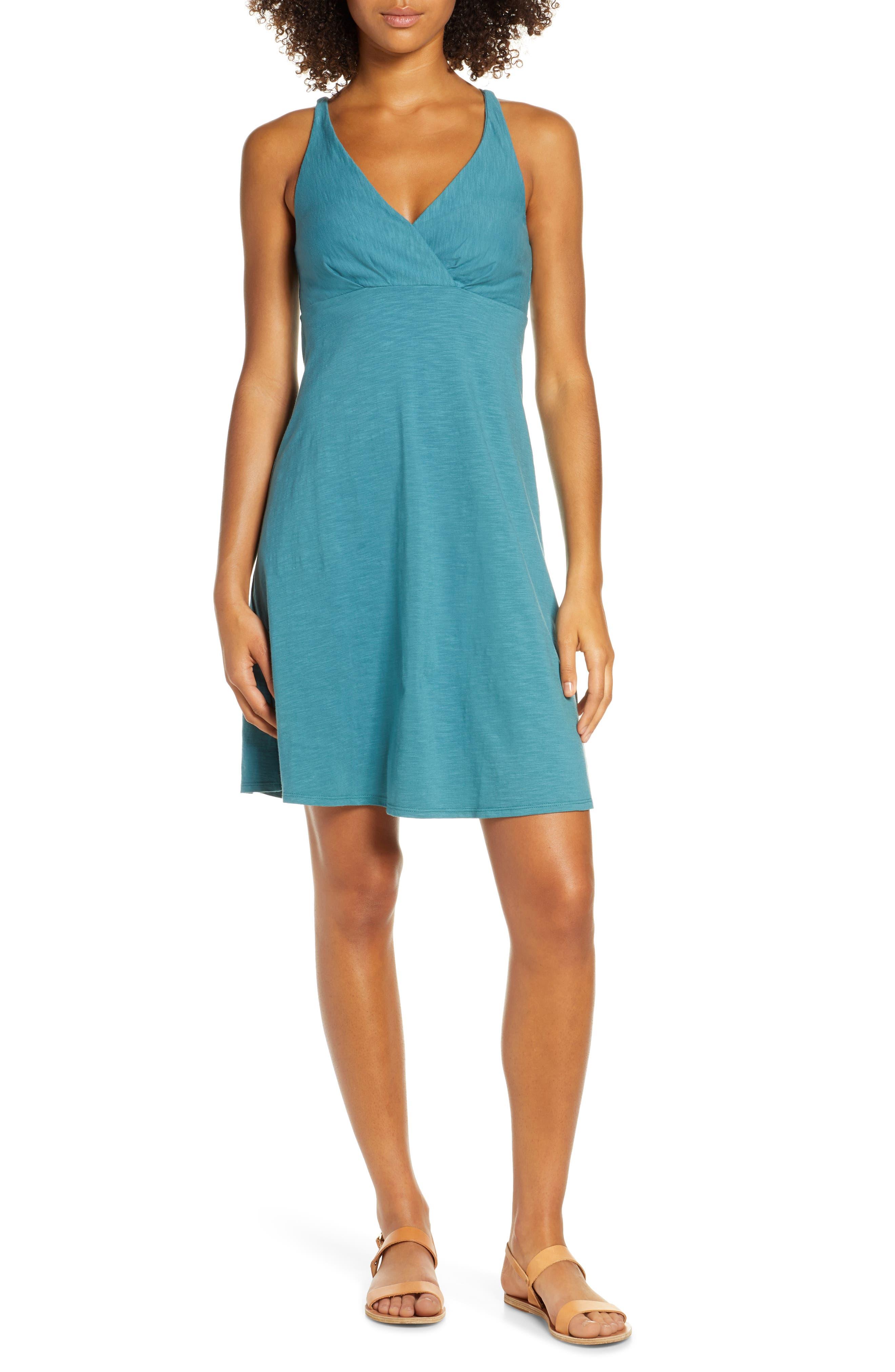 Patagonia Amber Dawn A-Line Dress, Blue