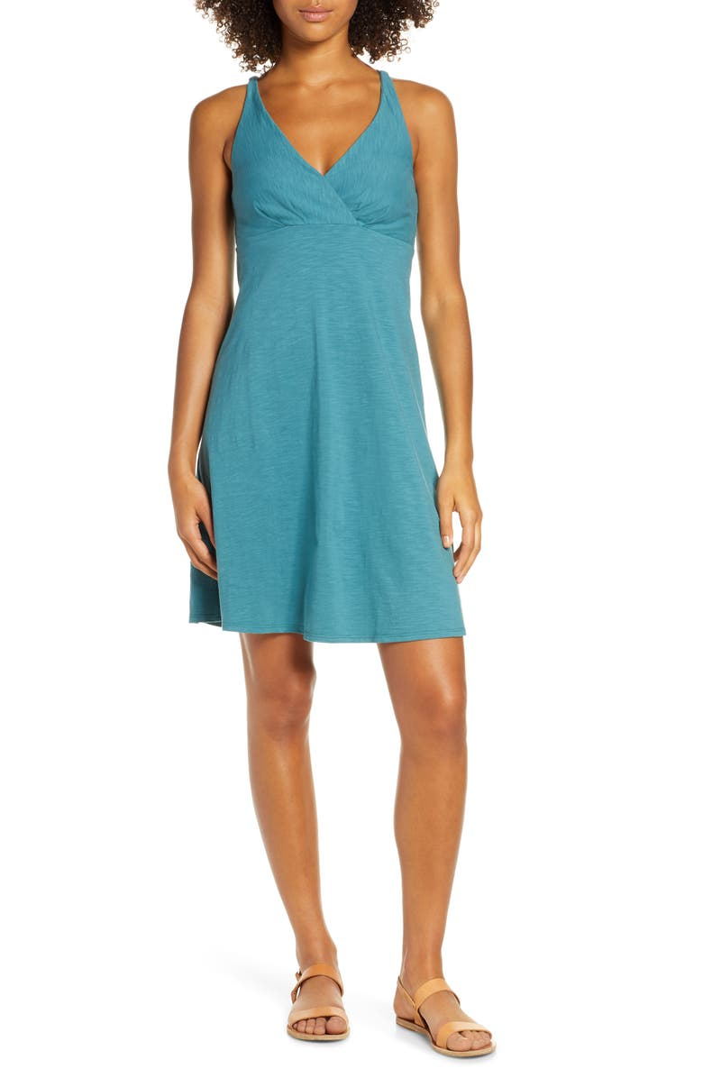 PATAGONIA Amber Dawn A-Line Dress, Main, color, 402