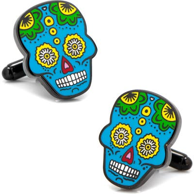Cufflinks, Inc. Sugar Skull Cuff Links