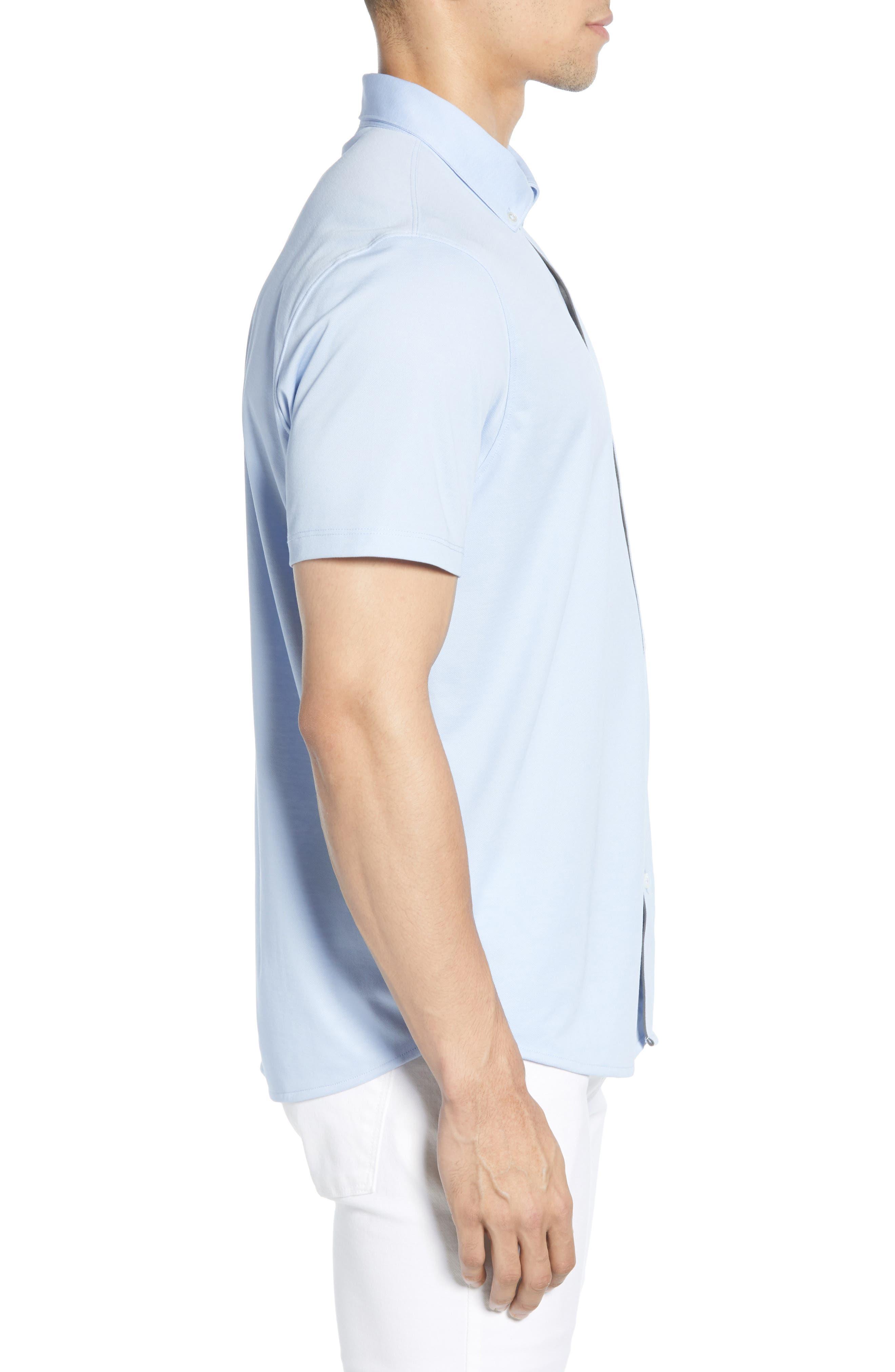 ,                             Caruth Regular Fit Short Sleeve Sport Shirt,                             Alternate thumbnail 32, color,                             450