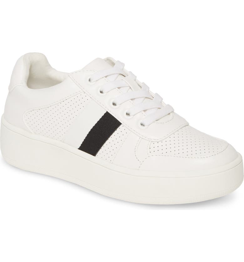 STEVE MADDEN Braden Sneaker, Main, color, WHITE MULTI