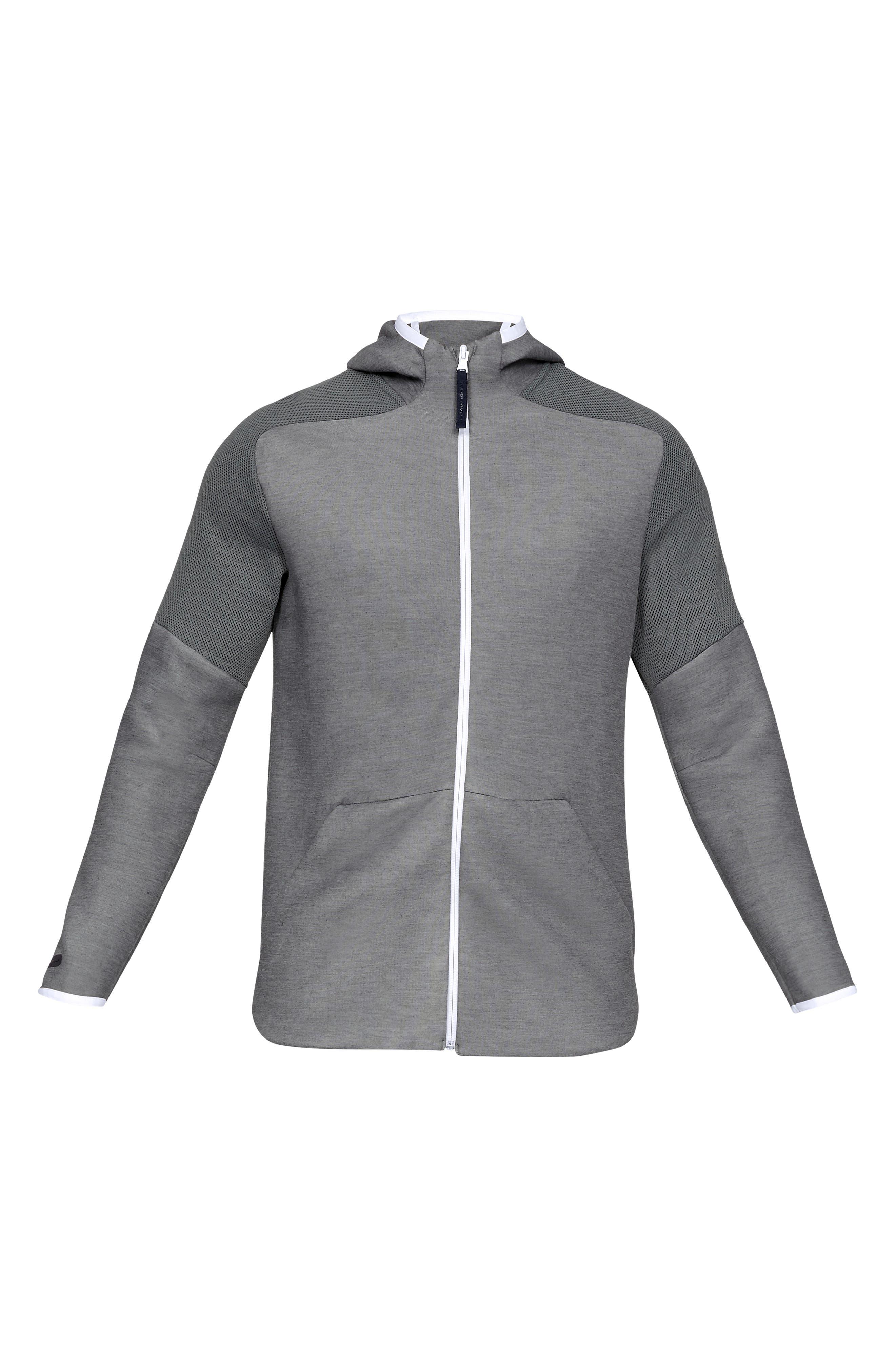 ,                             Unstoppable Move Light Full-Zip Hooded Sweatshirt,                             Alternate thumbnail 4, color,                             002