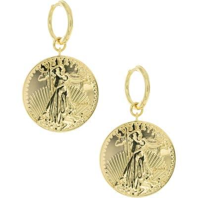 Uncommon James By Kristin Cavallari La Ventana Coin Earrings