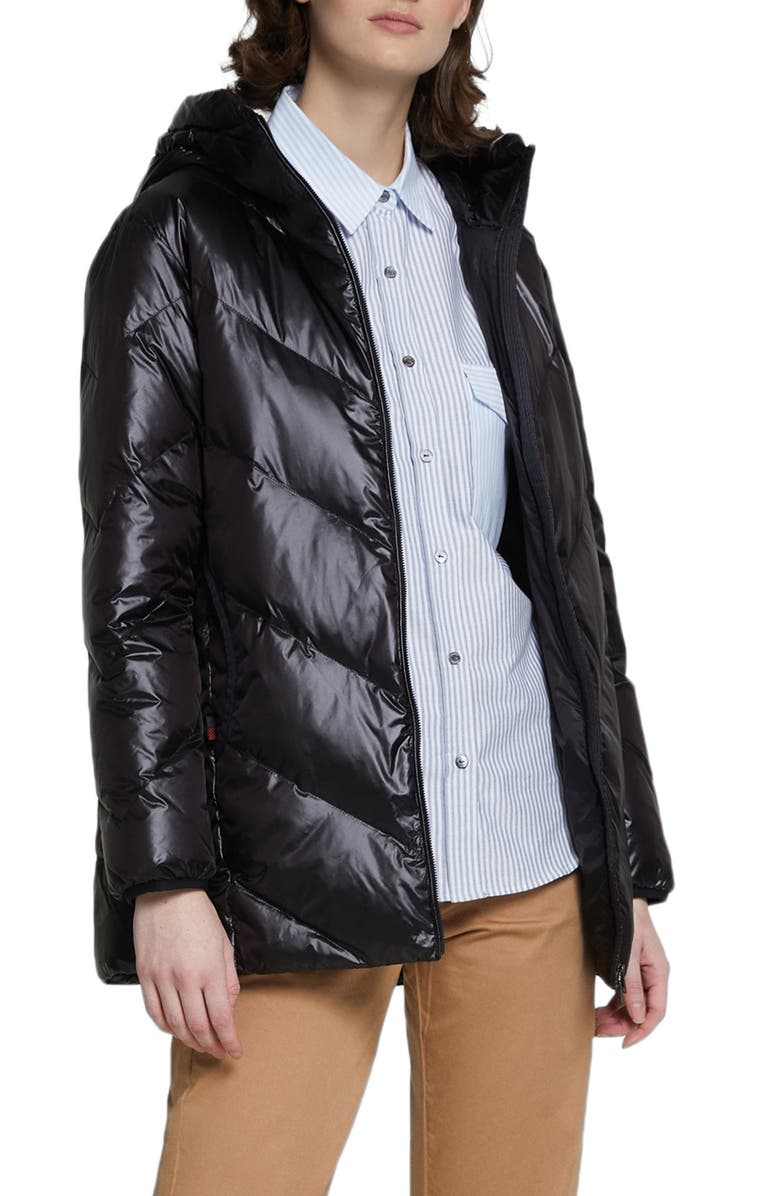 WOOLRICH Magnolia Water Repellent Down Puffer Jacket, Main, color, 001