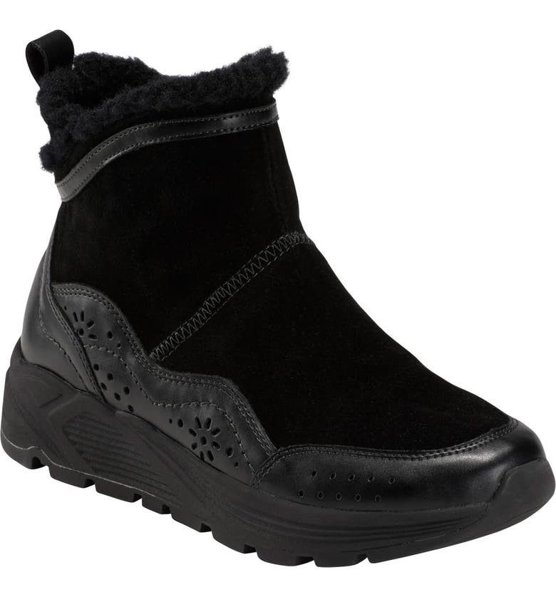 EARTH<SUP>®</SUP> Earth Journey Verve Waterproof Bootie, Main, color, BLACK SUEDE