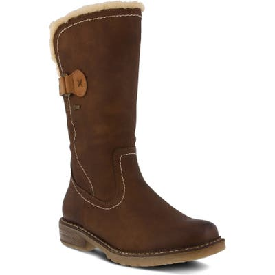 Spring Step Cagliari Water Resistant Boot - Brown