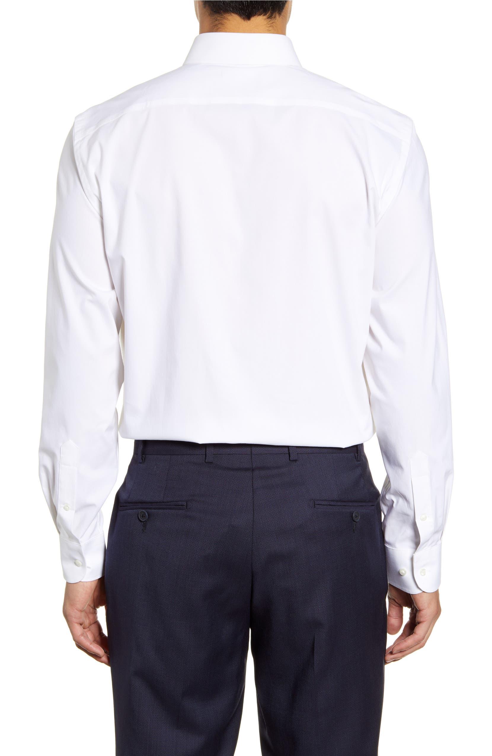 b12482581757 Nordstrom Men's Shop Tech-Smart Traditional Fit Stretch Pinpoint Dress  Shirt | Nordstrom