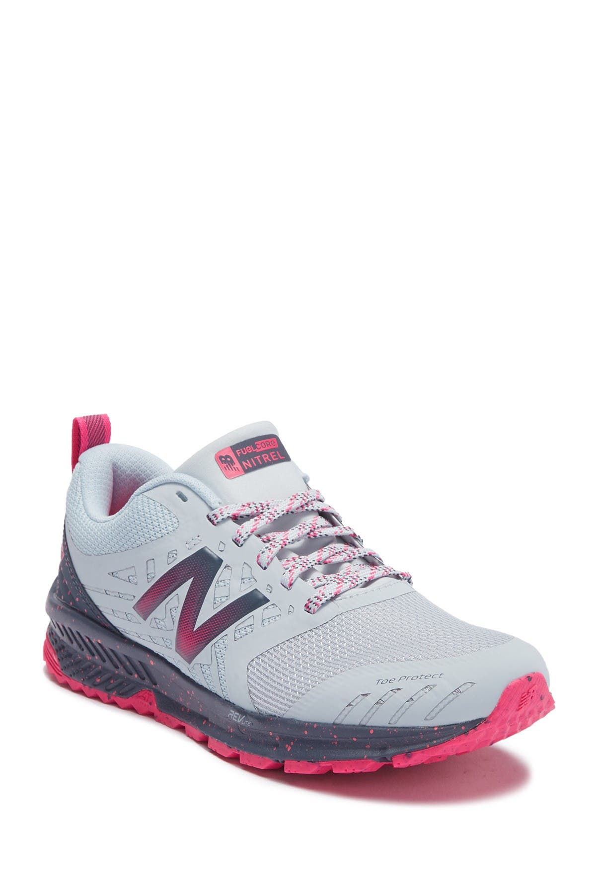 Image of New Balance Nitrel v1 FuelCore Trail Running Sneaker - Wide Width Available