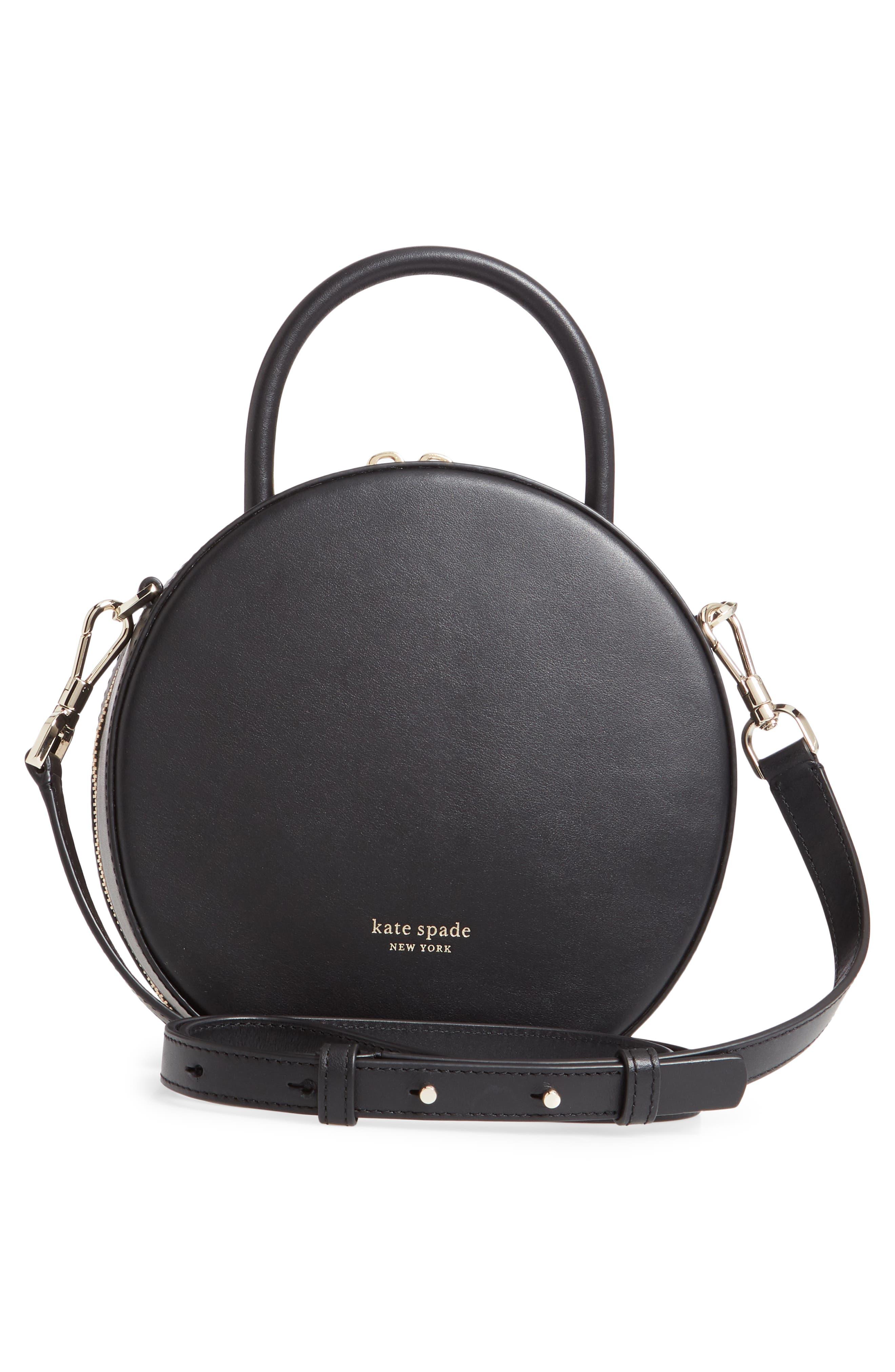 ,                             andi canteen leather crossbody bag,                             Alternate thumbnail 4, color,                             BLACK