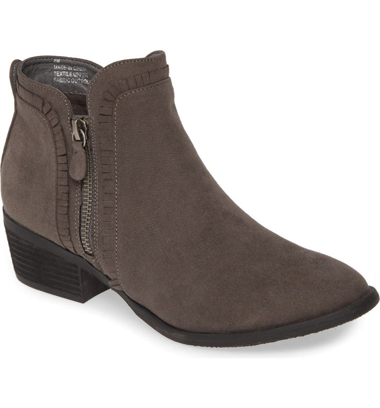MIA Mable Bootie, Main, color, CHARCOAL SUEDE