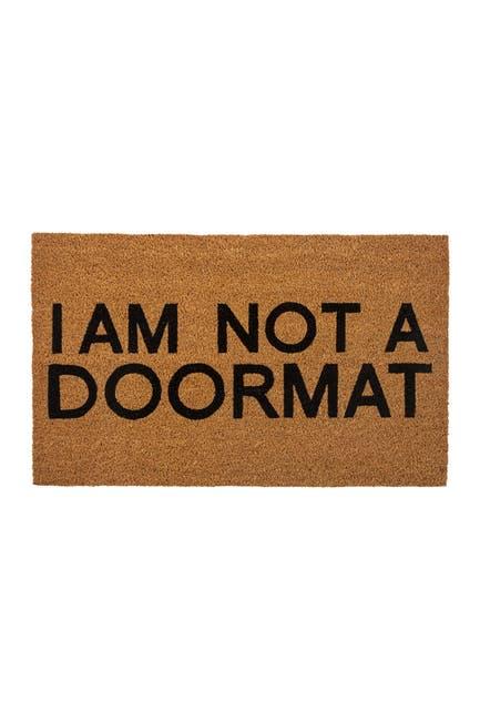 Image of ENTRYWAYS Not a Doormat Coir Doormat