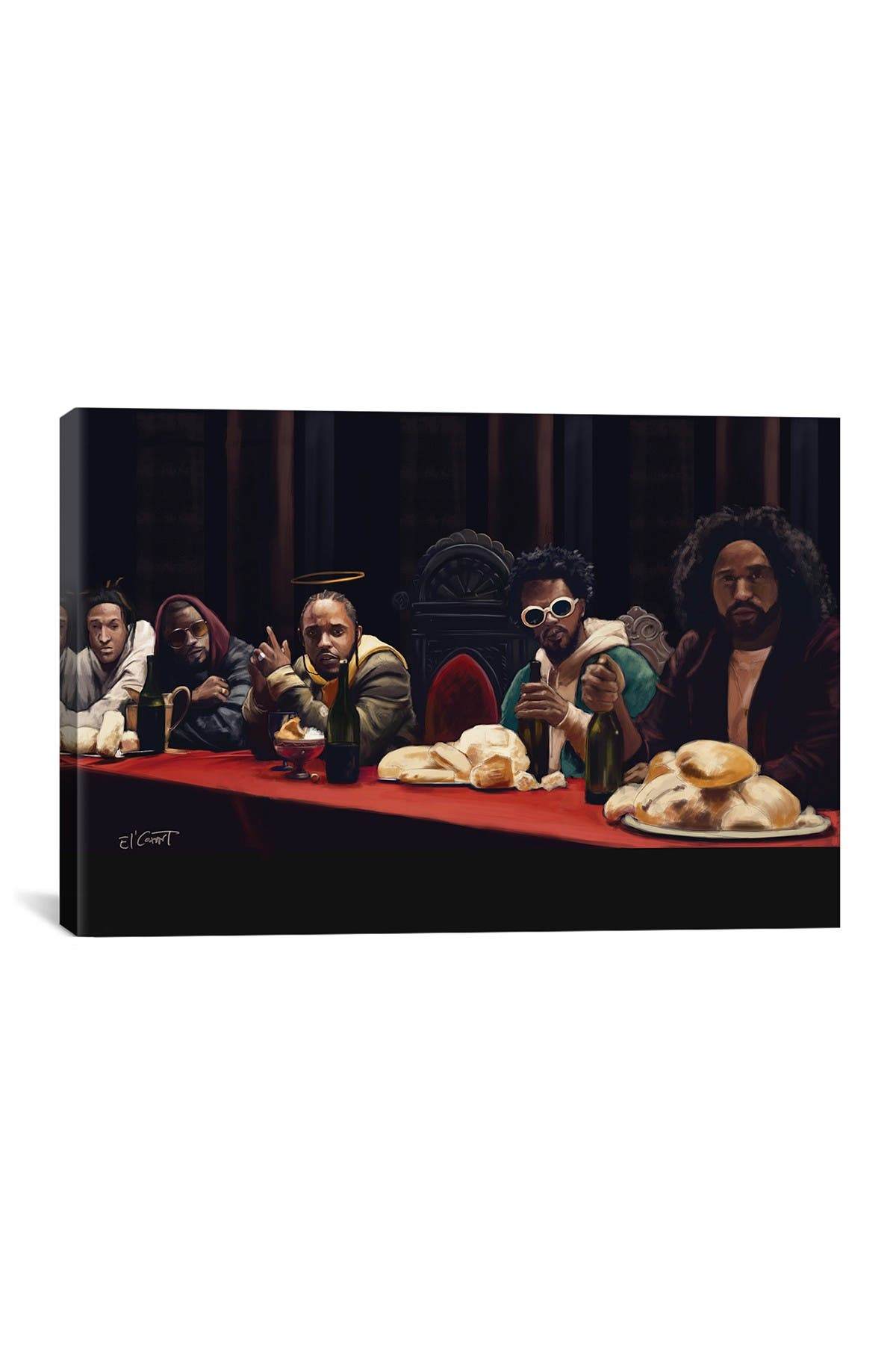 Image of iCanvas Last Supper by El'Cesart