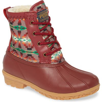 Pendleton Tucson Duck Boot, Red
