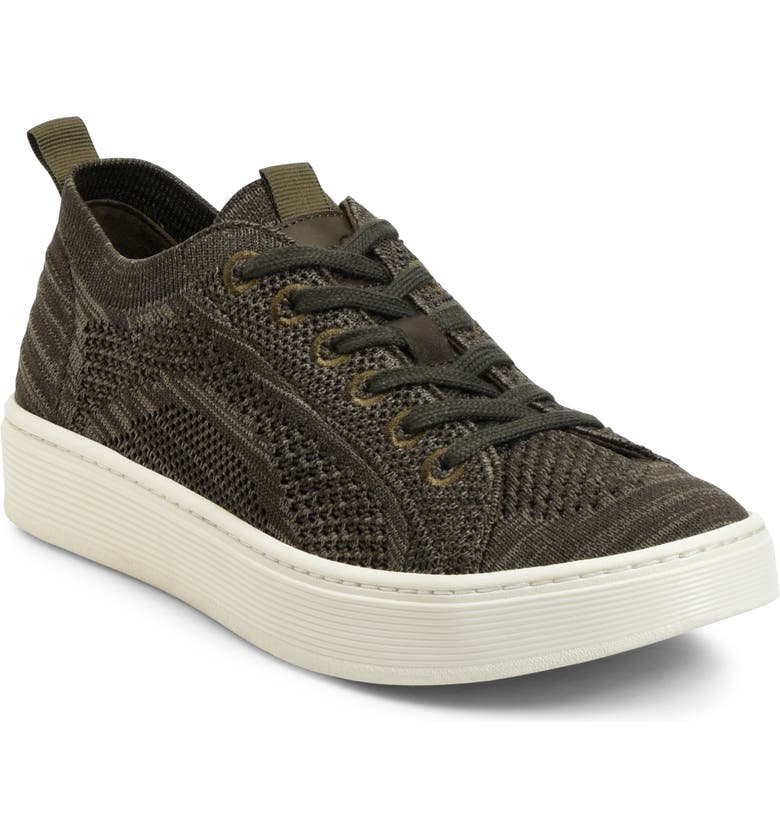 SÖFFT Somers Knit Sneaker, Main, color, ARMY GREEN