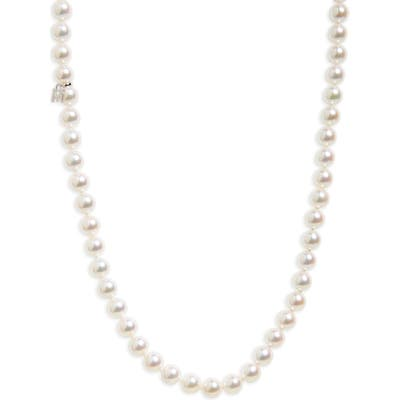 Mikimoto Every Essentials Cultured Pearl Strand Necklace