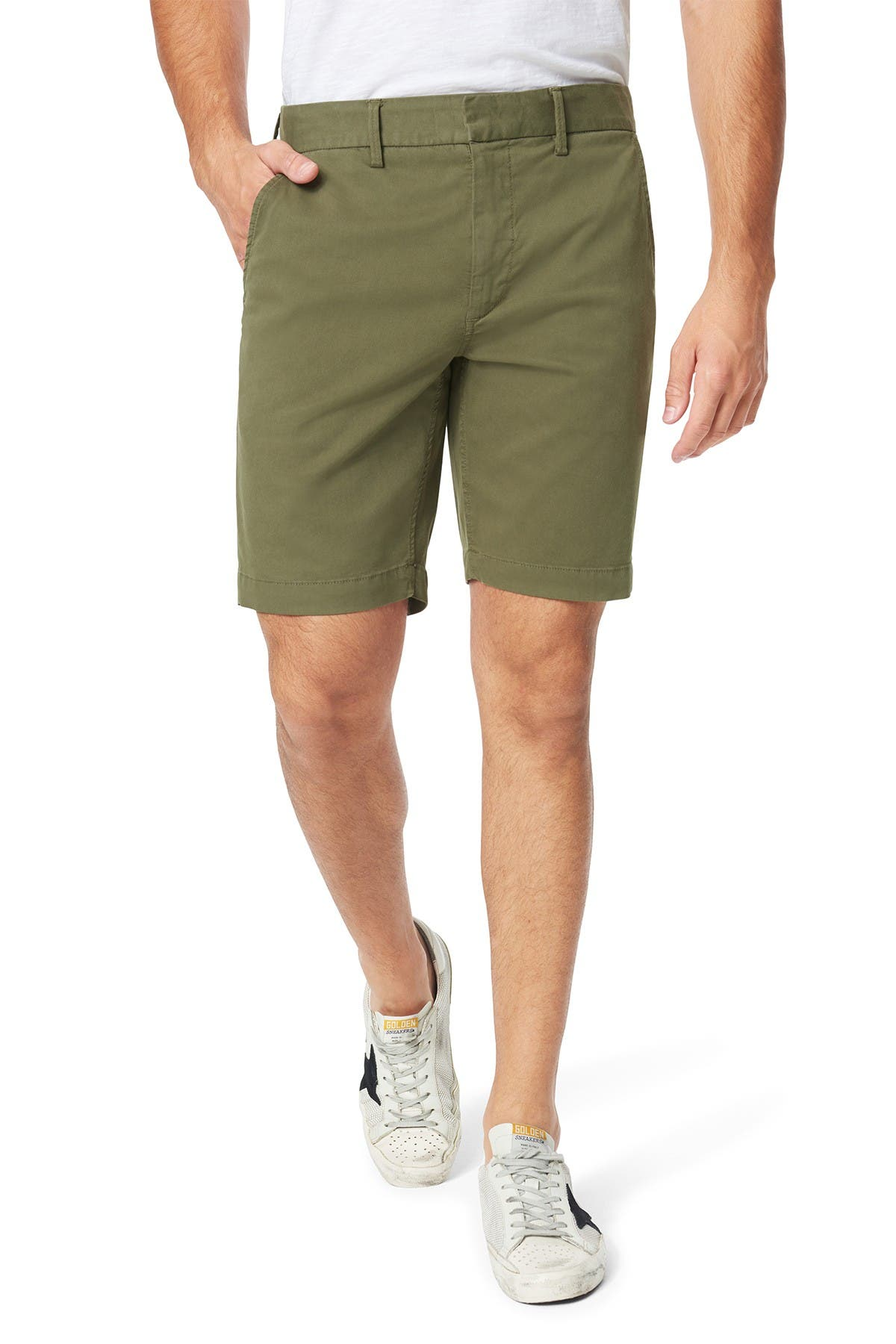 Image of Joe's Jeans Soder Mid Rise Chino Shorts