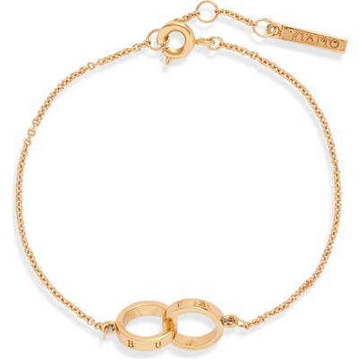 Olivia Burton The Classics Double Ring Chain Bracelet