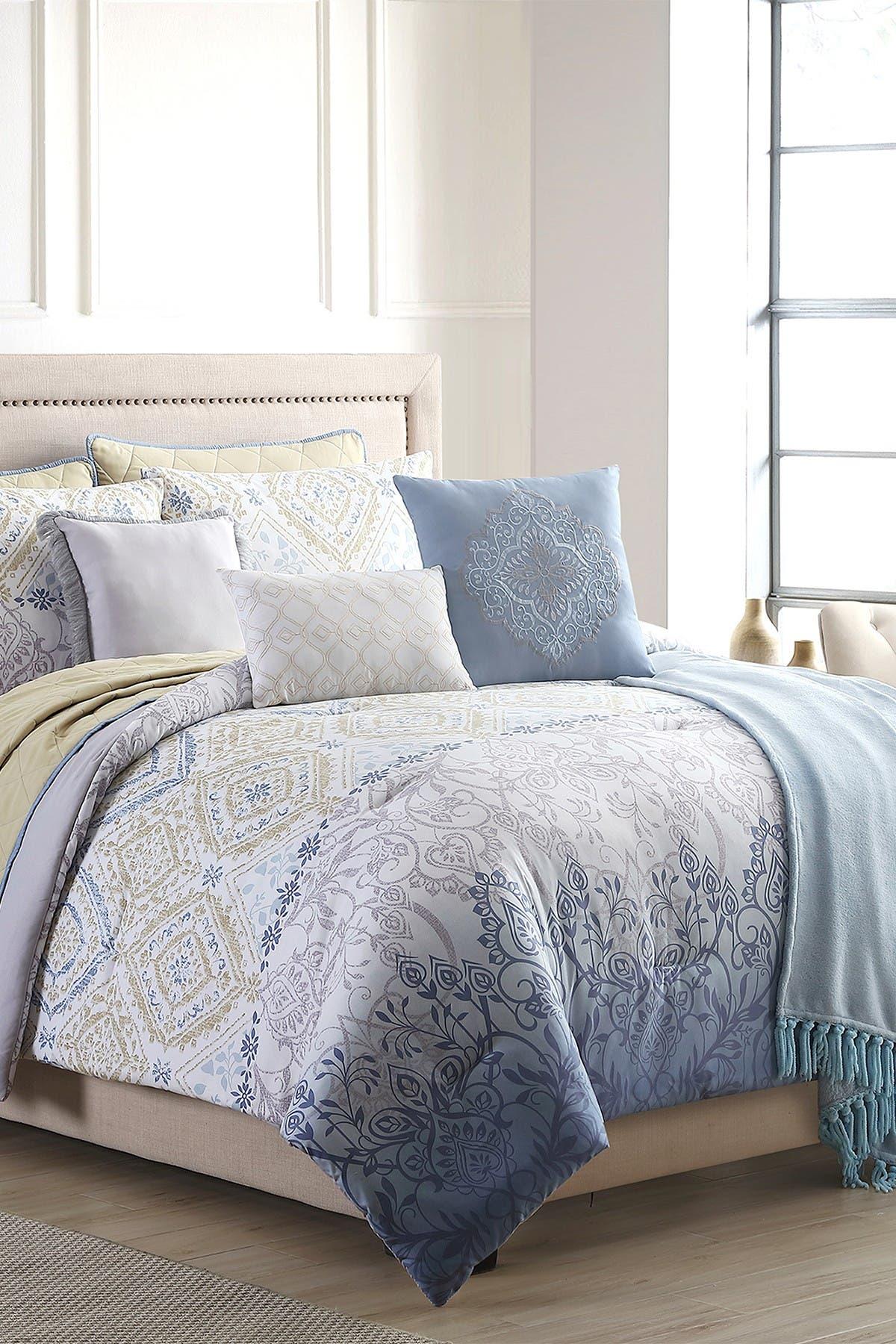 Image of Modern Threads King Dresden Comforter/Coverlet Set - Multi