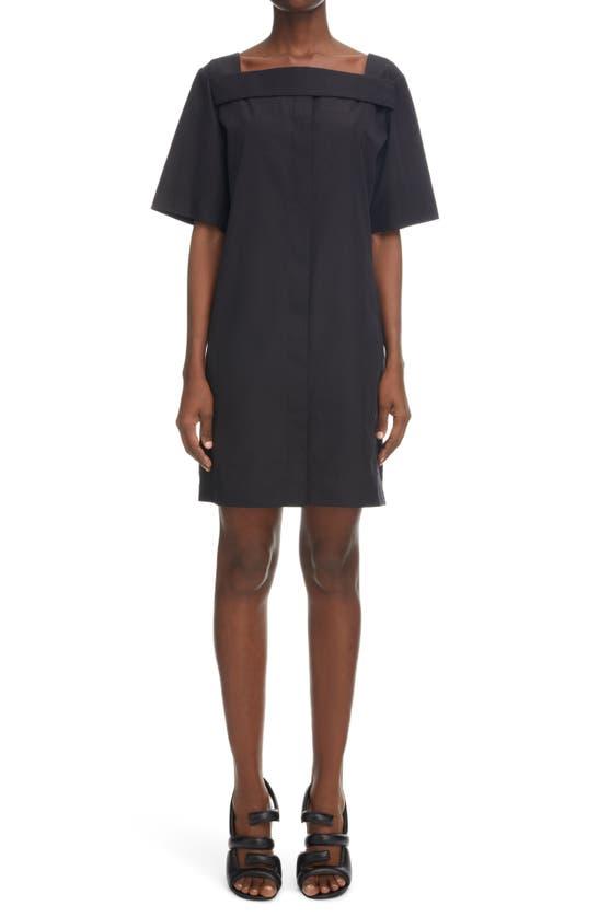 Givenchy Cottons SQUARE NECK SHORT COTTON DRESS