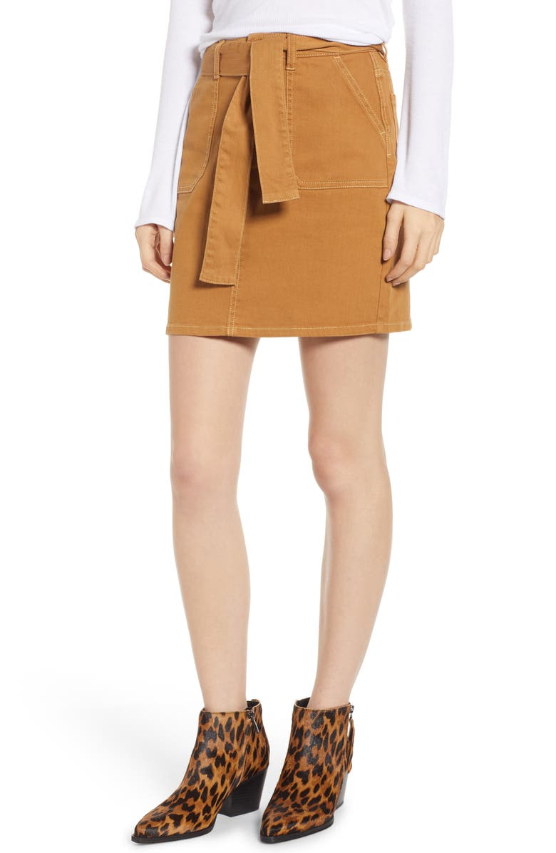 TINSEL Tie Waist Skirt, Main, color, 700
