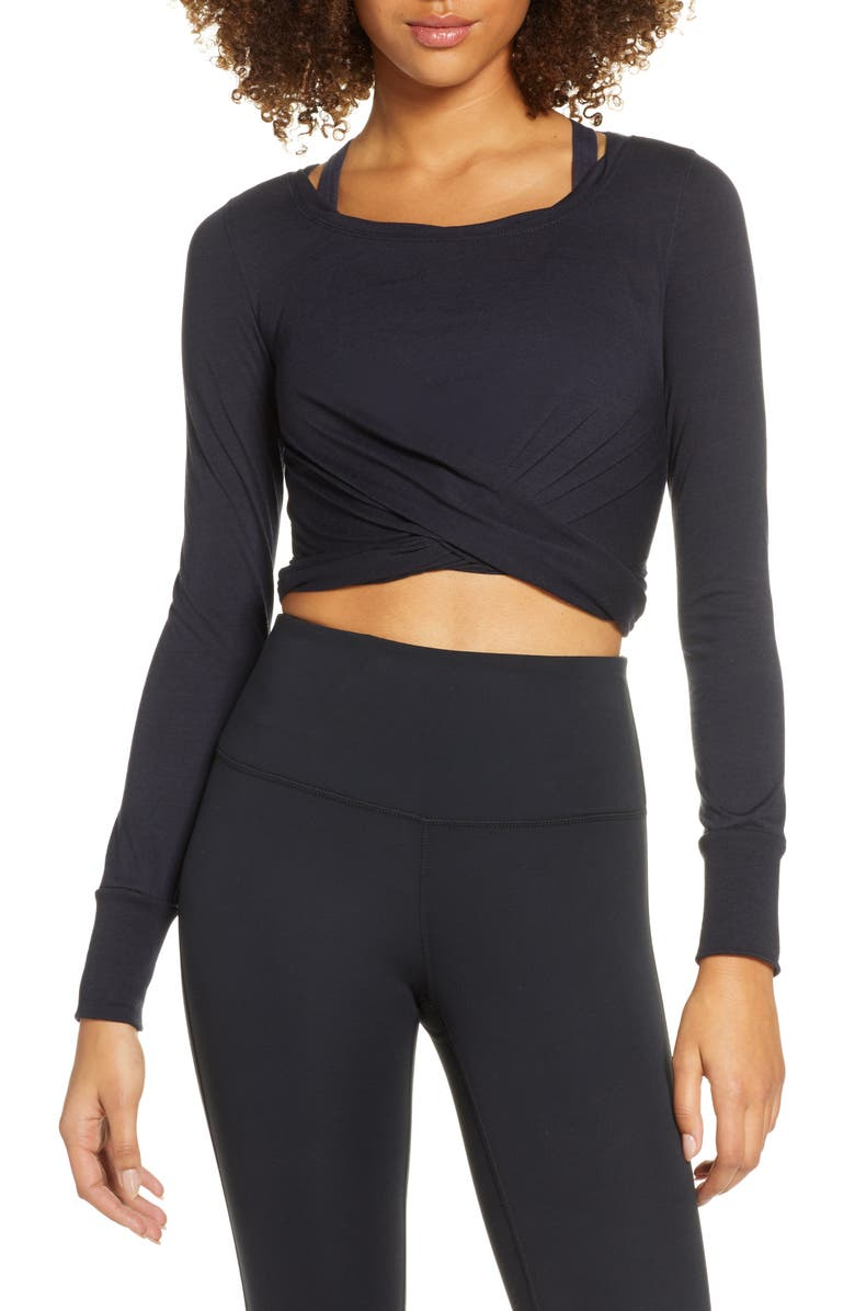 FREE PEOPLE FP MOVEMENT Undertow Crop Tee, Main, color, 468