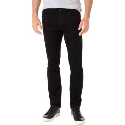 Liverpool Kingston Modern Straight Leg Jeans, Black