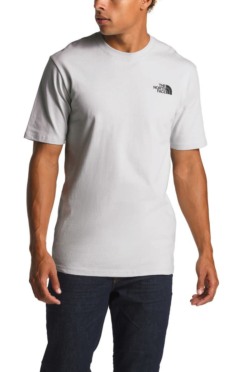 THE NORTH FACE Red Box Tee, Main, color, TIN GREY/ IRIDESCENT MULTI