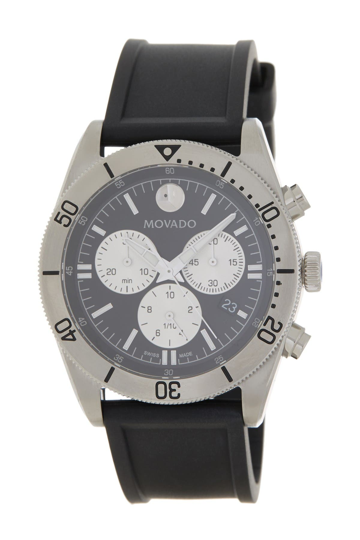 Image of Movado Men's Movado Sport Series Rubber Watch, 41mm