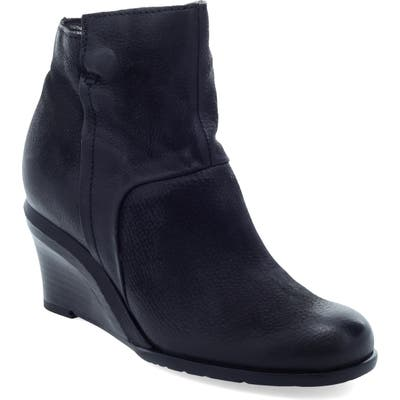 Miz Mooz Norma Wedge Bootie - Black