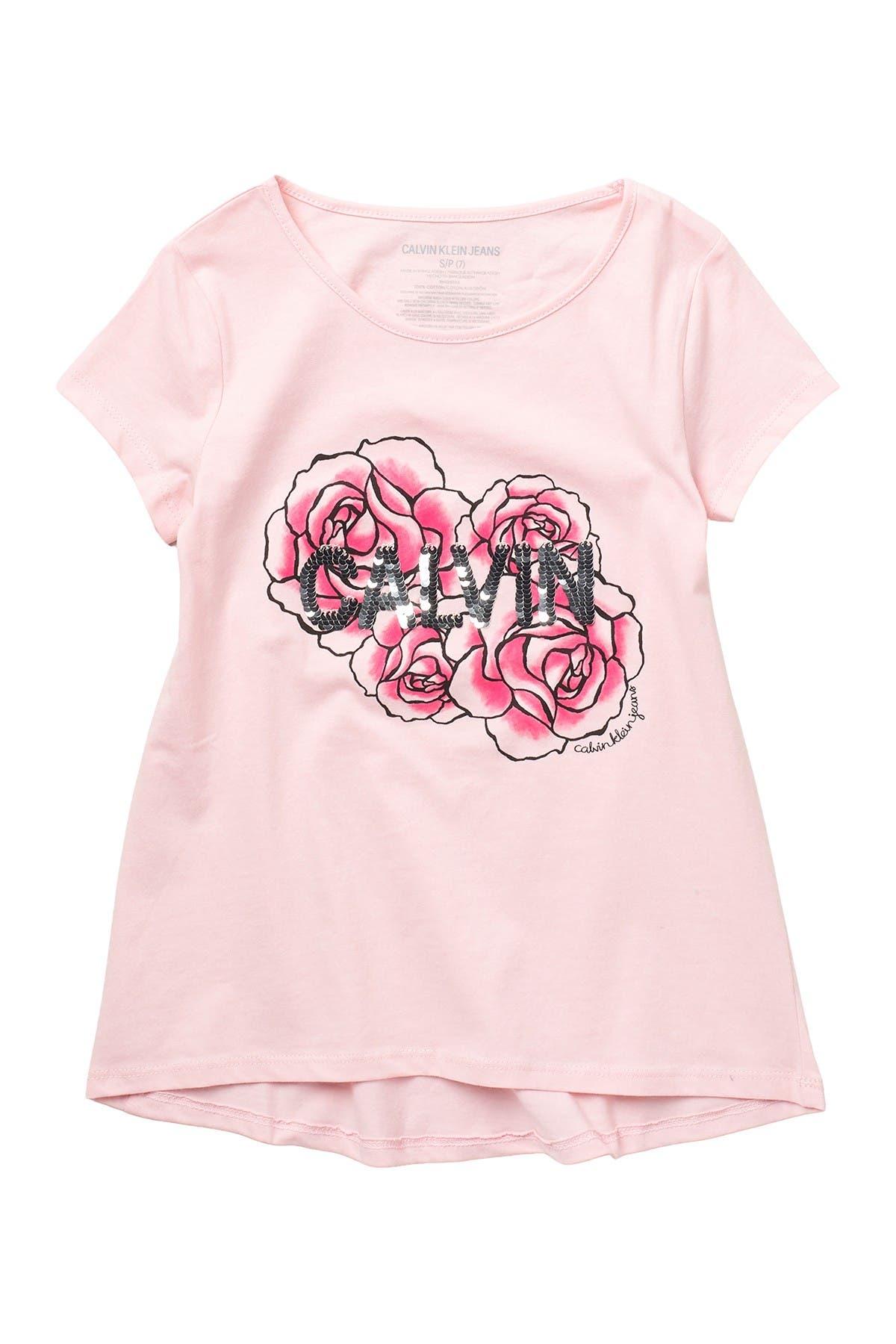 Image of Calvin Klein Super Flower T-Shirt
