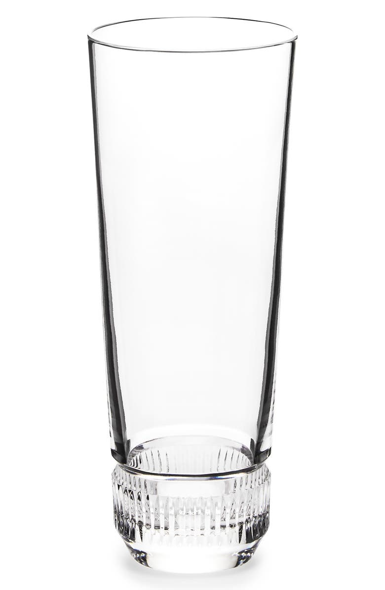 RALPH LAUREN Broughton Lead Crystal Pilsner Glass, Main, color, CLEAR