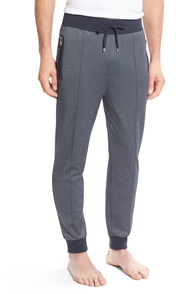 BOSS Cotton Blend Lounge Pants, Main, color, 407