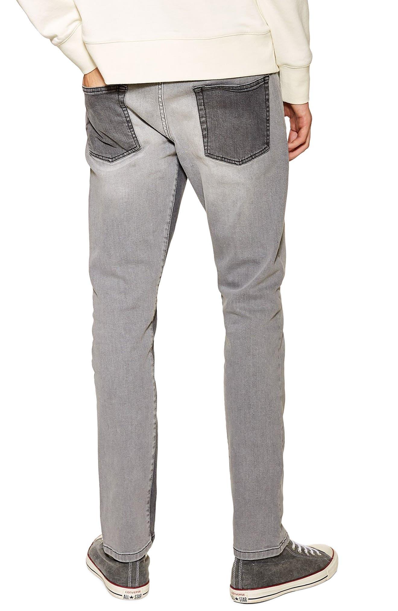 ,                             Slim Fit Panel Jeans,                             Alternate thumbnail 2, color,                             020