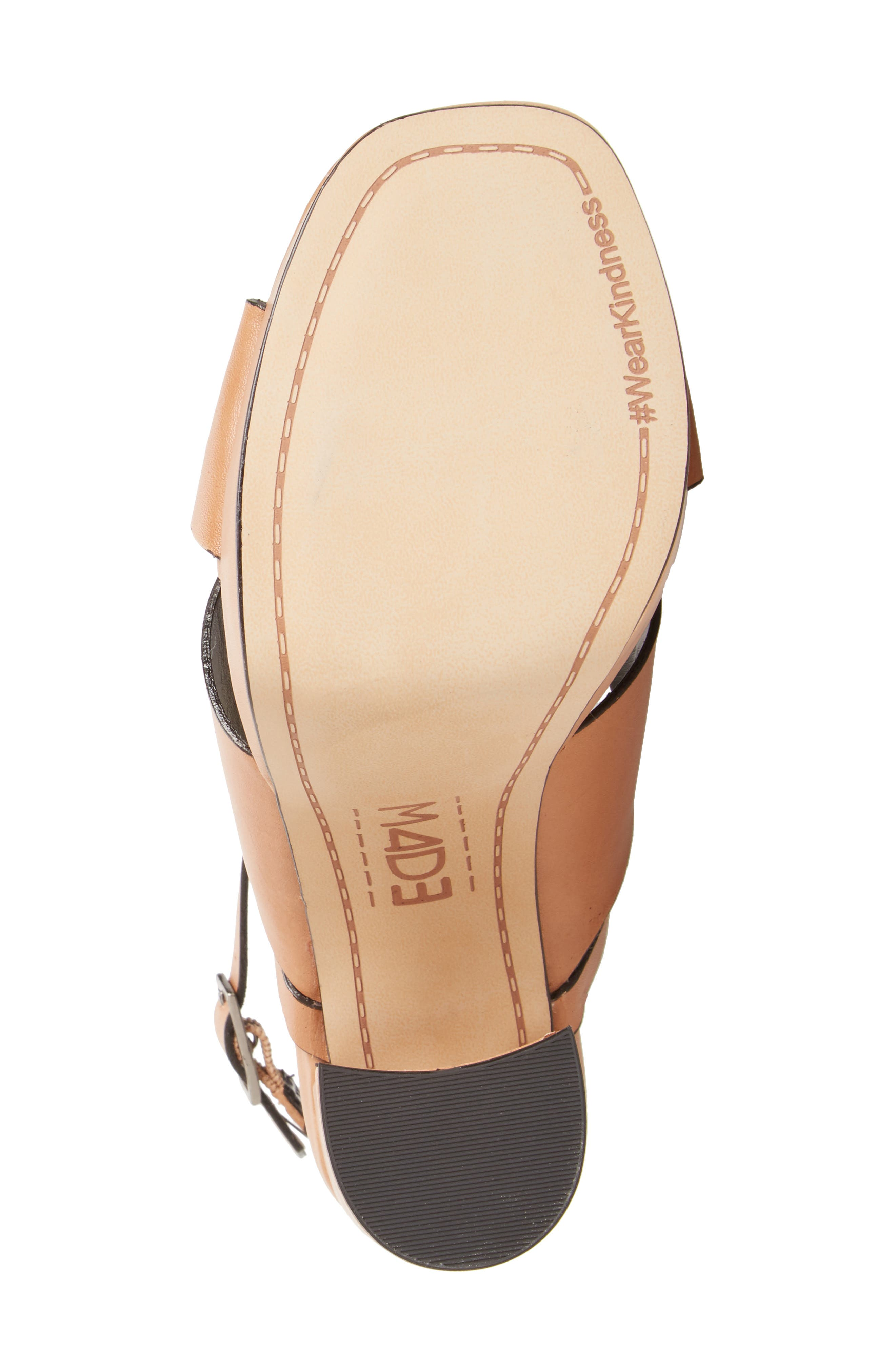 ,                             Priscilla Wraparound Platform Sandal,                             Alternate thumbnail 4, color,                             NUDE