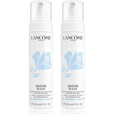 Lancome Full Size Mousse Radiance Gentle Cleansing Foam Duo