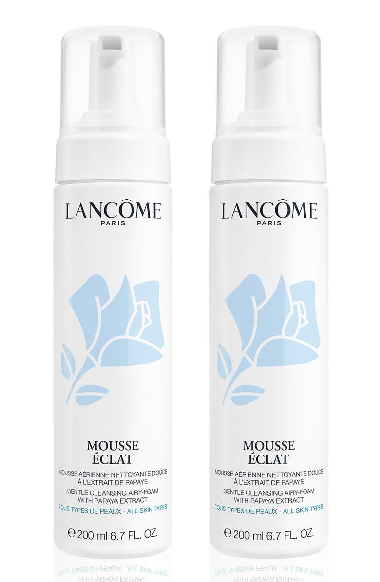 LANCÔME Full Size Mousse Radiance Gentle Cleansing Foam Duo, Main, color, NO COLOR