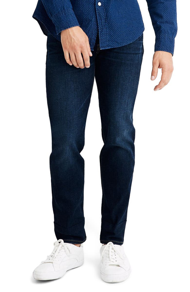 MADEWELL Athletic Slim Fit Jeans, Main, color, BAXLEY