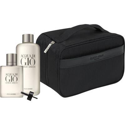 Acqua Di Gio Pour Homme Eau De Toilette Deluxe Refill Set ($242 Value)