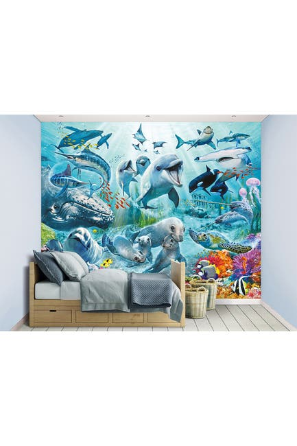 Image of WallPops! Under The Sea Wall Mural